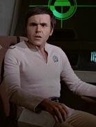 Chekov in Uniform mit V-Ausschnitt