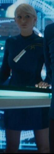 ...as <i>Enterprise</i> bridge officer