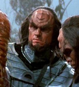 ...as a Klingon crewman