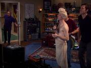 LeVar Burton in Sheldons und Leonards Wohnung