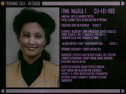 Marla Finn Personalakte Trois Halluzination