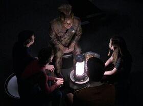 Neelix tells a ghost story