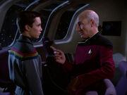 Picard reveals a secret