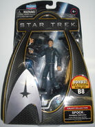 Playmates 2010 Galaxy Collection Spock Academy Instructor (unreleased)