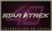 Star Trek 40th anniversary official logo