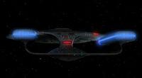 USS Challenger aft