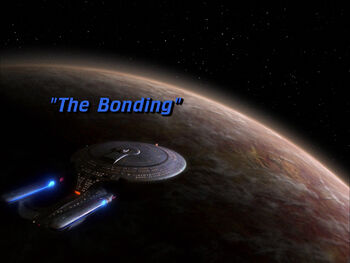 The Bonding title card