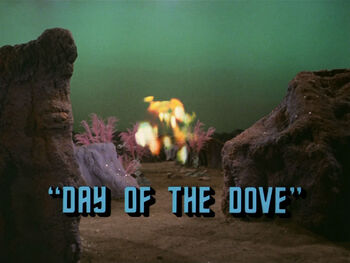 Day of the Dove title card