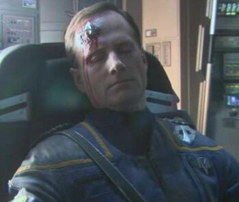 ...as the dead ISS <i>Avenger</i> captain