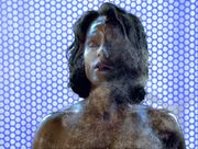 B'Elanna in sonic shower