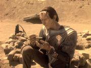 Dukat betrauert Tora Naprems Tod