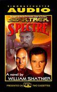 Spectre audiobook cover, US cassette edition