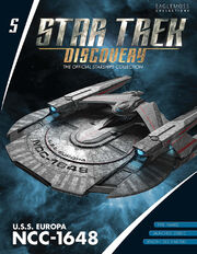 Star Trek Discovery Starships Collection issue 5