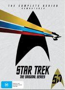 Star Trek The Original Series - Complete Series DVD, Region 4 cover