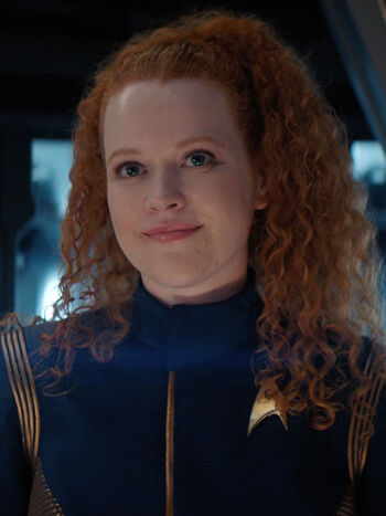 ... as Cadet Sylvia Tilly