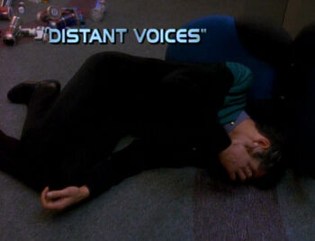 Distant Voices title card