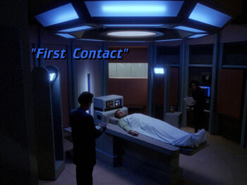 First Contact title card