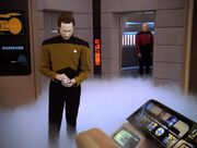 Data on foggy Enterprise-D bridge