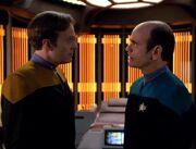 Der Doktor und das Hologramm von Barclay