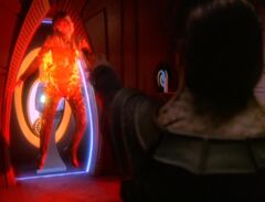 Jadzia Dax attacked by Dukat