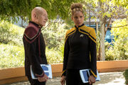 Picard and Raffi, 2385
