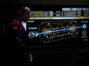 Sisko erklärt die Pläne für das Kommunikationsrelais