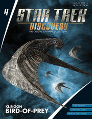 Star Trek Discovery Starships Collection issue 4