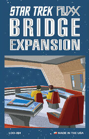 Star Trek Fluxx Bridge Expansion pack art