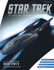 Star Trek Official Starships Collection USS Enterprise-F Fed Livery cover