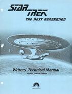 Star Trek The Next Generation Writers Technical Manual season 4