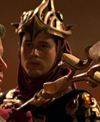... as a Vulcan guard