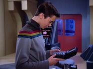 Wesley Crusher mit speziellem Tricorder