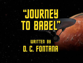 Journey to Babel title card