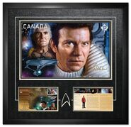 Canada Post 2017 framed Kirk print