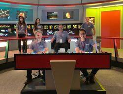 Eaglemoss Hero Collector staff on 2019 Vegas con bridge