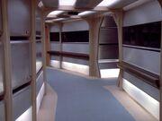 Enterprise-D Korridor