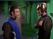 Kirk als Romulaner