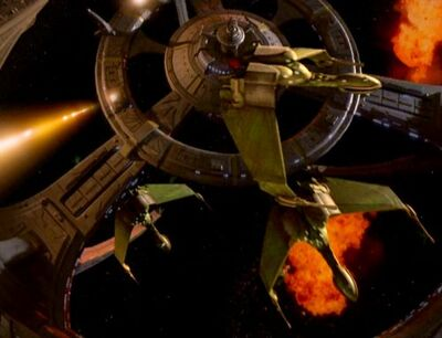 Klingonen Angriff auf DS9