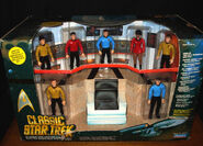 Playmates Classic Star Trek Bridge Set