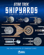 Star Trek Shipyards Starfleet Ships 2063-2293 cover