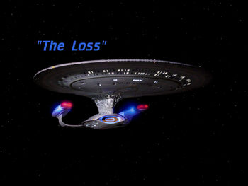 The Loss title card