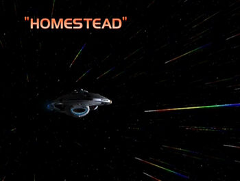 Homestead title card