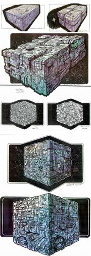 Borg cube second variant design process