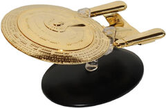 Eaglemoss SP20 Gold USS Enterprise-D