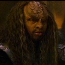 Klingon guard, Generations