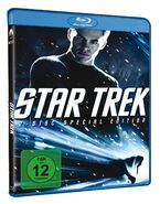 Star Trek 2 disc Blu-ray Region B German cover