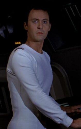 ...as an <i>Enterprise</i> crewmember.