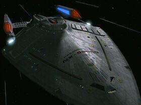USS Prometheus, 2374 (fore)