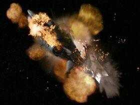 USS Valiant destroyed
