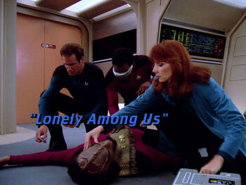 Lonely Among Us title card